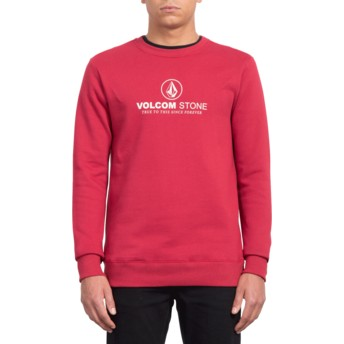 Sweatshirt vermelho General Stone Burgundy Heather da Volcom