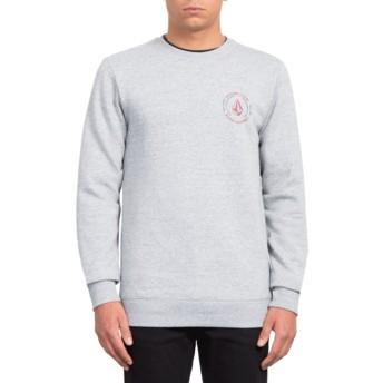 Sweatshirt cinza General Stone Storm da Volcom