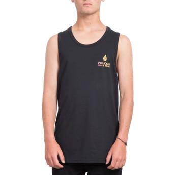 Camiseta sem mangas preto Peace Is Progess Black da Volcom