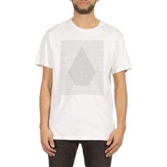 Camiseta manga curta branco Ripple White da Volcom
