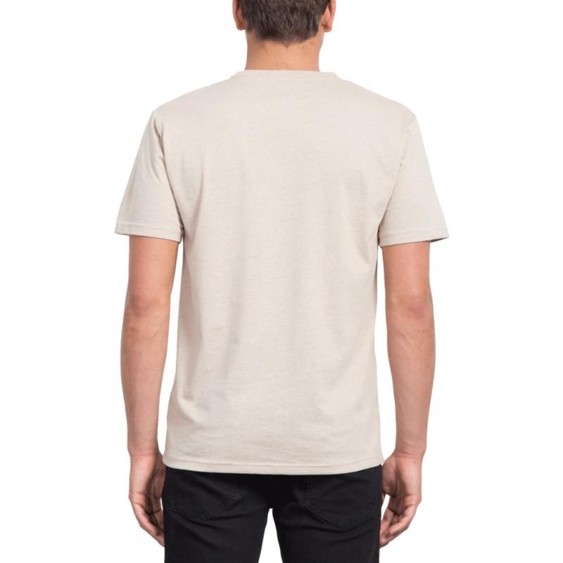 f09e76d7c Camiseta manga curta bege Heather Oatmeal da Volcom  comprar online ...