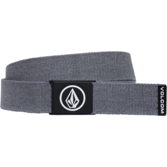 Cinto cinza Circle Web Charcoal Heather da Volcom