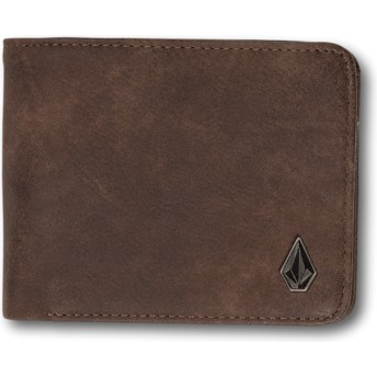 Carteira castanha 3in1 Brown da Volcom