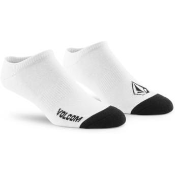 Meias brancas Stone Ankle White da Volcom
