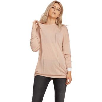 Camisola rosa Simply Stone Knit Mushroom da Volcom