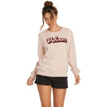 Sweatshirt rosa Sound Check Mushroom da Volcom