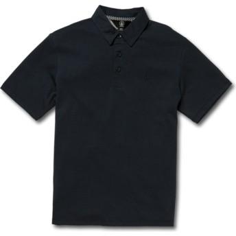 Polo manga curta azul marinho para criança Wowzer Navy da Volcom