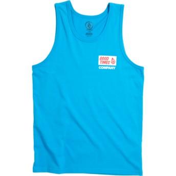 Regata azul para criança Volcom Is Good Cyan Blue da Volcom