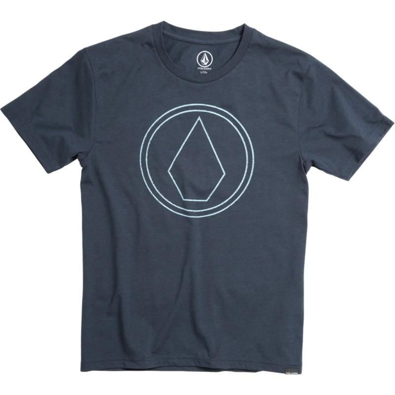 7eb5fed5c Camiseta manga curta azul marinho para criança Pin Stone Indigo da ...