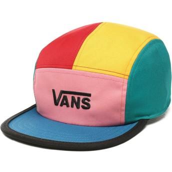 Boné 5 painéis multicolor Patchy da Vans
