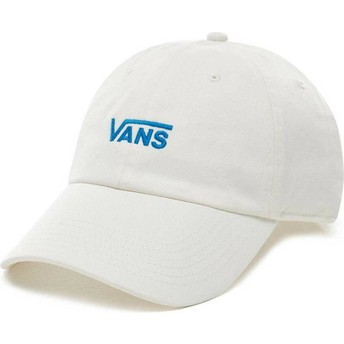 Boné curvo branco ajustável Court Side da Vans