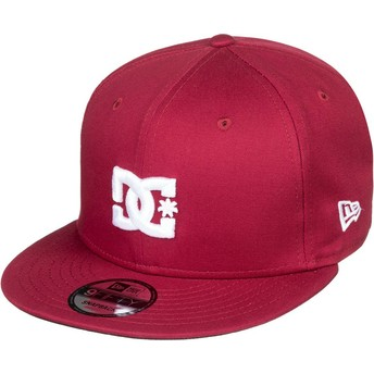 Boné plano grená snapback Empire Fielder da DC Shoes