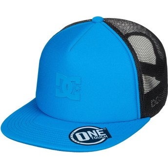 Boné trucker azul Greet Up da DC Shoes