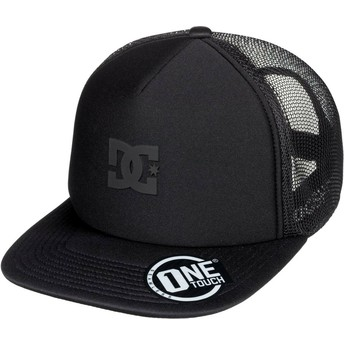 Boné trucker preto Greet Up da DC Shoes