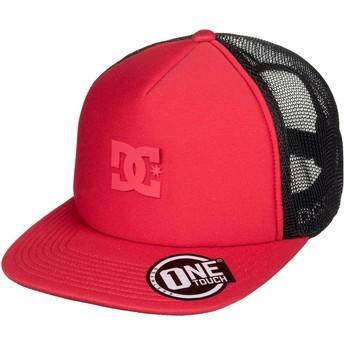 Boné trucker vermelho Greet Up da DC Shoes