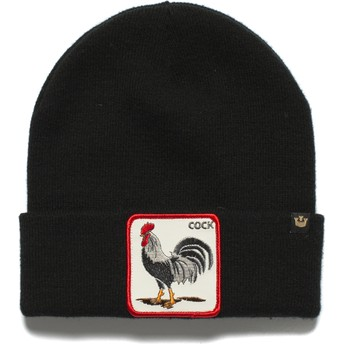 Gorro preto galo Winter Bird da Goorin Bros.
