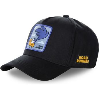 Boné curvo preto snapback Bip Bip ROA3 Looney Tunes da Capslab