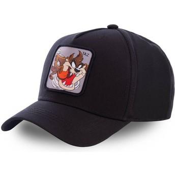 Boné curvo preto snapback Demónio da Tasmânia TAZ6 Looney Tunes da Capslab