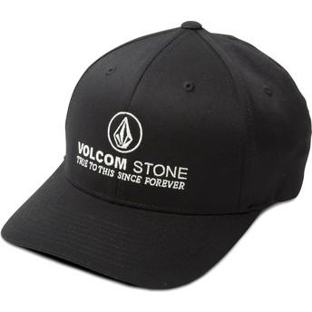 Boné curvo preto justo Super Clean Xfit da Volcom
