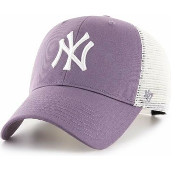 Boné trucker violeta MVP Flagship da New York Yankees MLB da 47 Brand