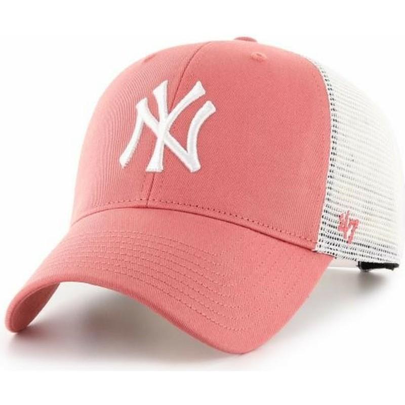 1be3d064ae011 Boné trucker vermelho MVP Flagship da New York Yankees MLB da 47 ...