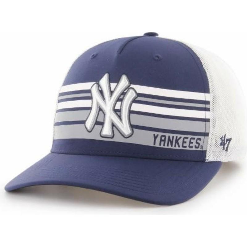 38069d5232a18 Boné trucker azul marinho MVP DP da New York Yankees MLB da 47 Brand ...