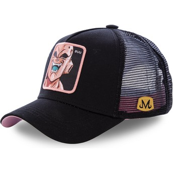 Boné trucker preto Kid Buu BUU Dragon Ball da Capslab