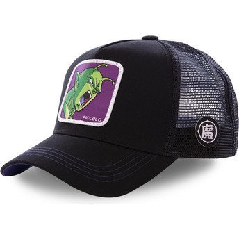Boné trucker preto Piccolo PIC2 Dragon Ball da Capslab
