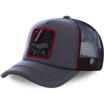 Boné trucker cinza Darth Vader VAD5M Star Wars da Capslab
