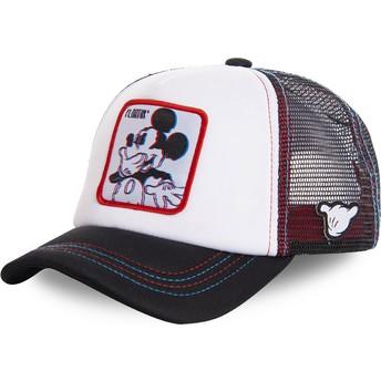 Boné trucker branco Mickey Mouse Floatin FLO2M Disney da Capslab
