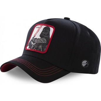 Boné curvo preto snapback Darth Vader VAD3 Star Wars da Capslab