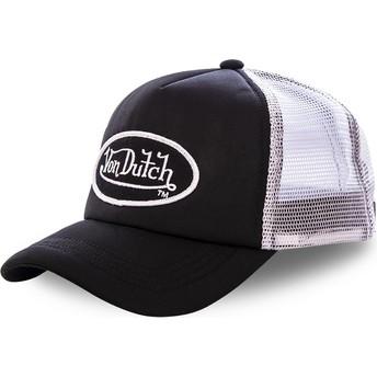Boné trucker preto e branco FAO BLA da Von Dutch