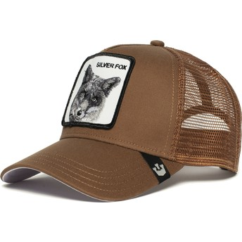 Boné trucker castanho raposa Silver Fox da Goorin Bros.