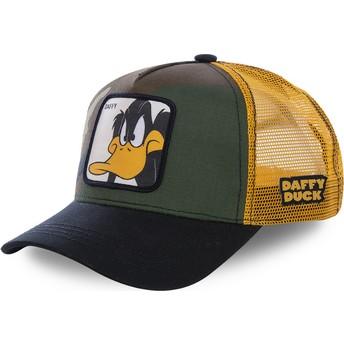 Boné trucker camuflagem, amarelo e preto Patolino DAF4 Looney Tunes da Capslab
