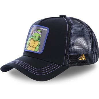 Boné trucker preto Donatello DON As Tartarugas Ninja da Capslab
