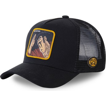 Boné trucker preto Mr. Satan SAT3 Dragon Ball da Capslab