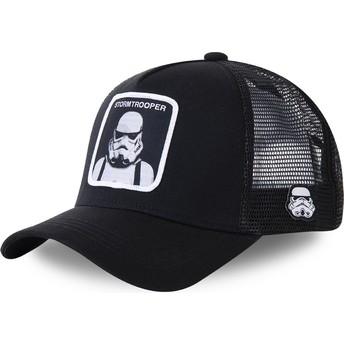 Boné trucker preto Stormtrooper BA Star Wars da Capslab