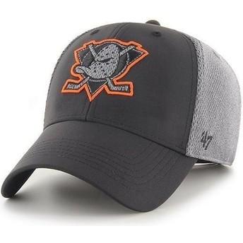 Boné curvo preto MVP Arlo da Anaheim Ducks NHL da 47 Brand