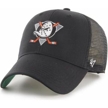 Boné trucker preto MVP Branson da Anaheim Ducks NHL da 47 Brand