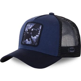 Boné trucker azul marinho Batman BAT4 DC Comics da Capslab