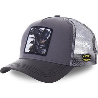 Boné trucker cinza Batman BTM1 DC Comics da Capslab