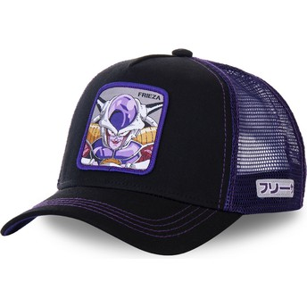 Boné trucker preto e violeta Frieza FRI1 Dragon Ball da Capslab