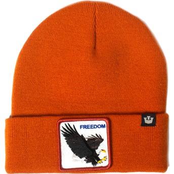 Gorro laranja águia Hot Head da Goorin Bros.