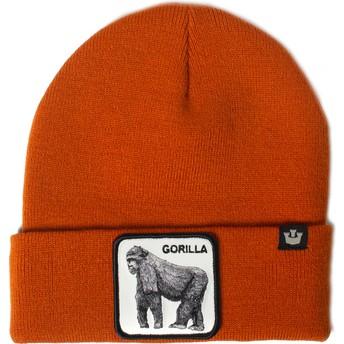 Gorro laranja gorila Beast Mode da Goorin Bros.