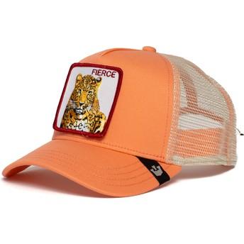 Boné trucker rosa tigre Fierce Tiger da Goorin Bros.
