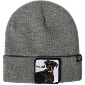 Gorro cinza cão rottweiler Tough Dog da Goorin Bros.
