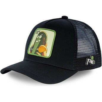 Boné trucker preto Pickle Rick CKL2 Rick e Morty da Capslab