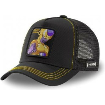 Boné trucker preto Golden Frieza FRI3 Dragon Ball da Capslab