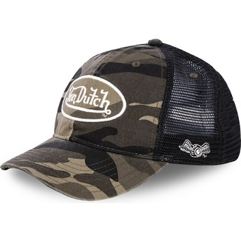 Boné trucker camuflagem ARMY02 da Von Dutch