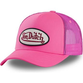 Boné trucker rosa FRESH04 da Von Dutch
